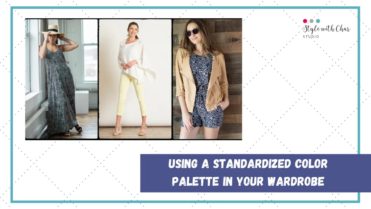 How to standardize your fashion color palette