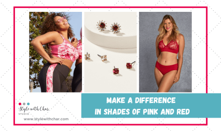 Make a Difference in Shades of Pink and Red