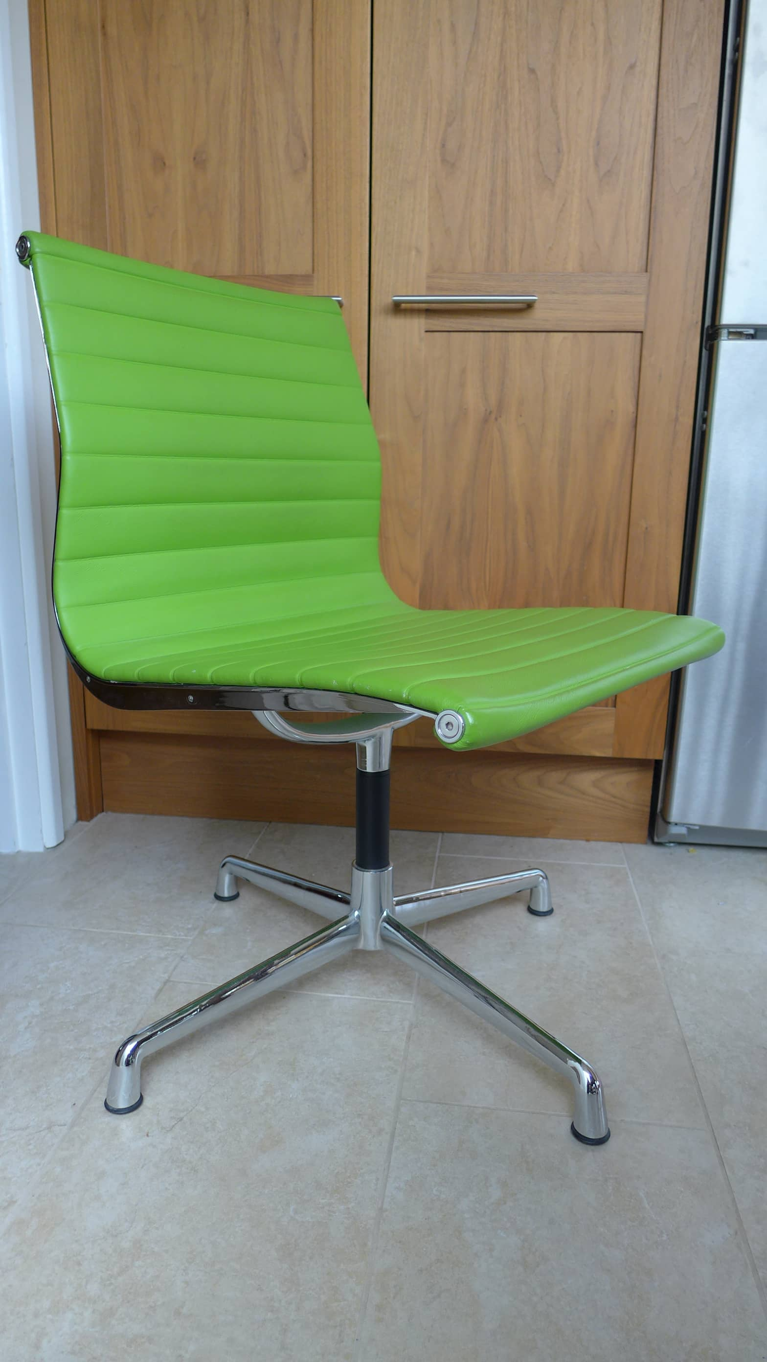 Lime Green Chair Furniture Style Within