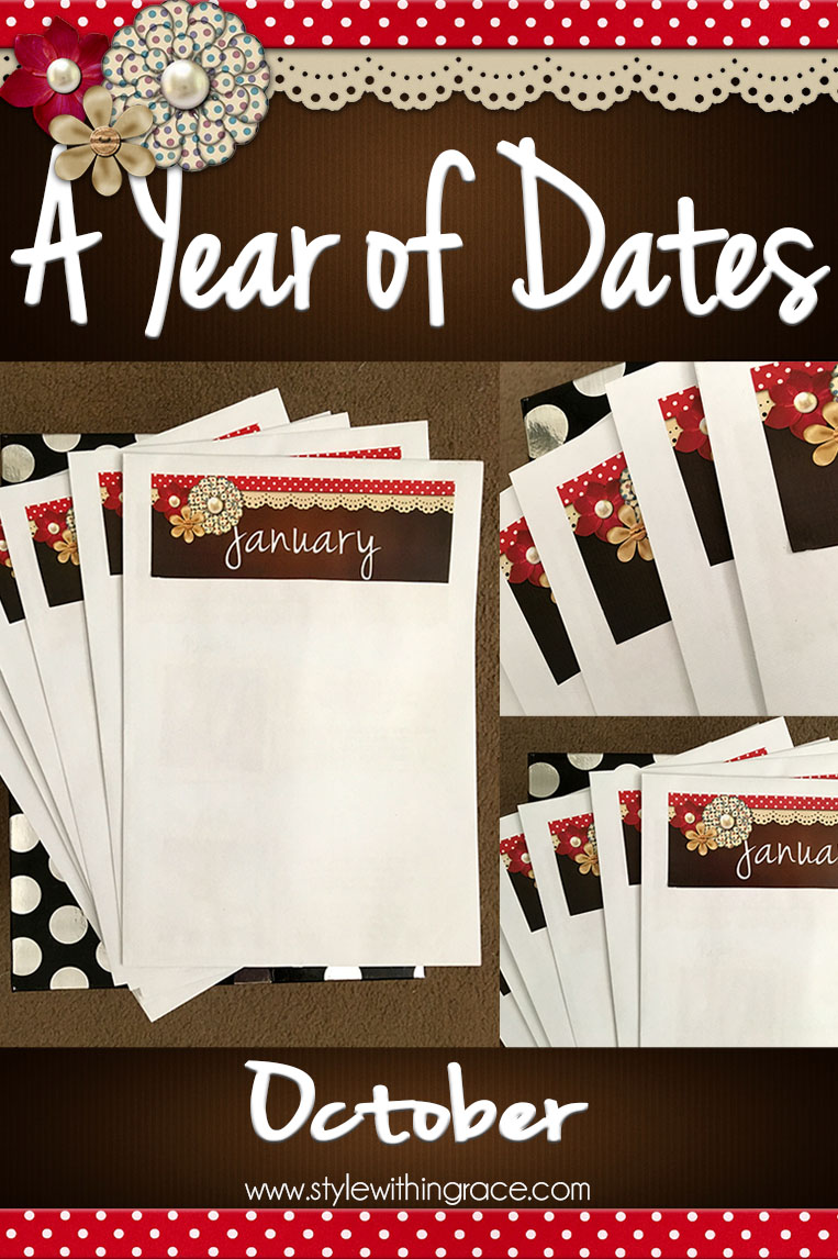 Horror themed date ideas and inspiration for the month of October to match with Halloween.