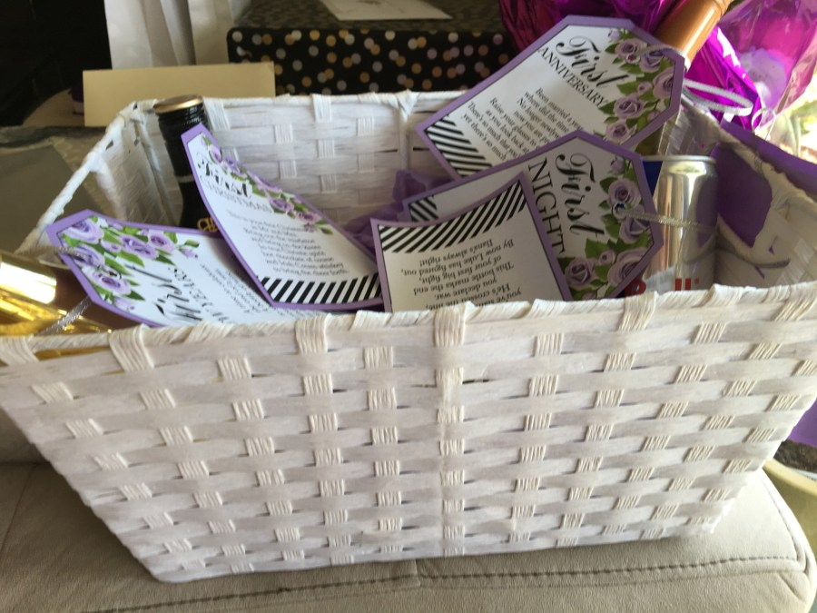 A Year of Firsts (In A Basket) Gift 3