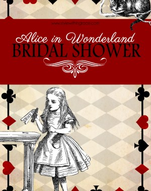 Alice In Wonderland Bridal Shower Title