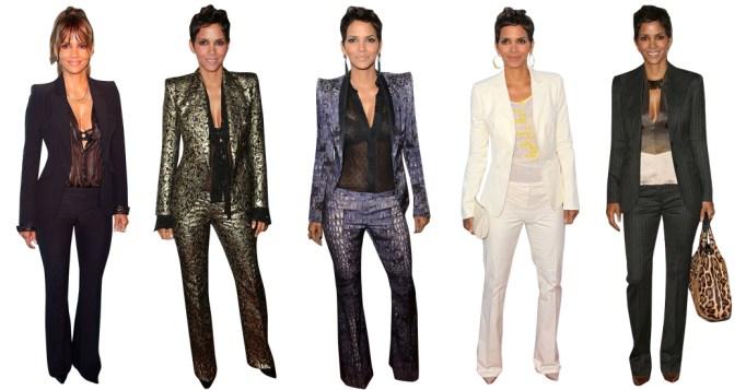Halle Berry Style Uniform