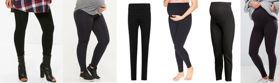 Maternity Wardrobe Essentials - Maternity Leggings