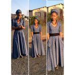 lovely traditional  shweshwe dresses 2016 cute