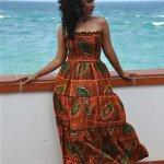 trendy kitenge dresses designs 2016 for women