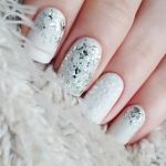 simple white nail art designs 2017