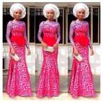 latest french lace asoebi  2016 2017
