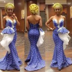 2017 Beautiful Asoebi In Lace Style