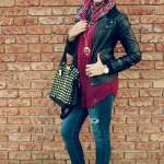 top style hijab casual jeans 2017