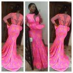cute simple african dresses design 2017
