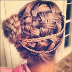 side braid prom hairstyles for 2017