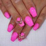 Pink Nail Design 2016 2017 new