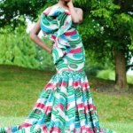 african print styles for weddings 2017