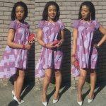 short ankara dresses 2017 trends