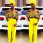 Ankara Off-The-Shoulder Top Styles In 2017