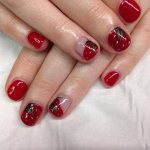 simple french tip nail art designs 2017