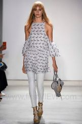 Rebecca Minkoff New York Fashion Week RTW Spring Summer 2016 September 2015