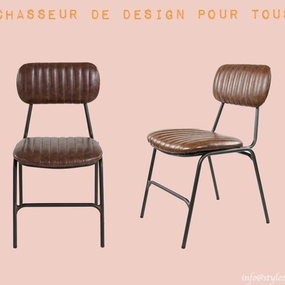 chaise années 50 confortable ancienne