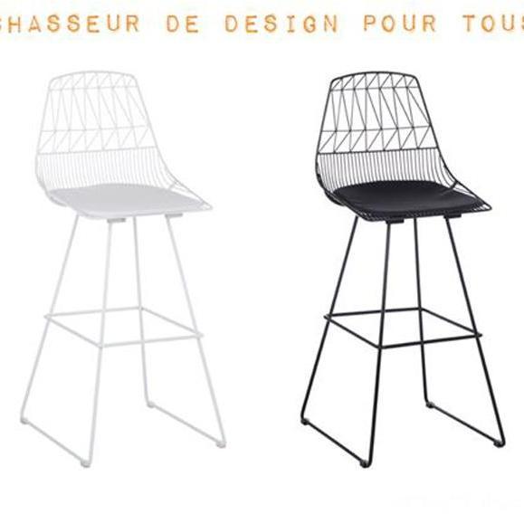 chaise de bar haute design