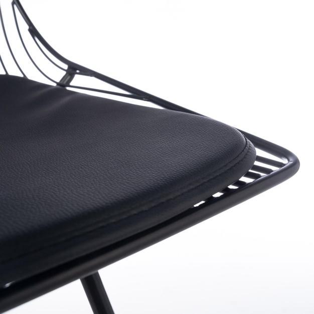 chaise de bar rembourrée confortable