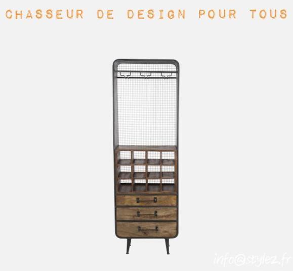 meuble vaisselle vintage bois design