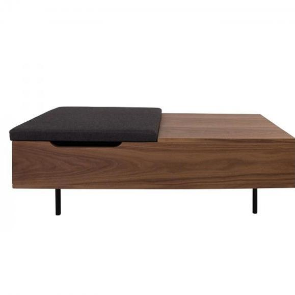 table coffre noyer abys