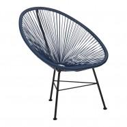 chaise acapulco bleu marine