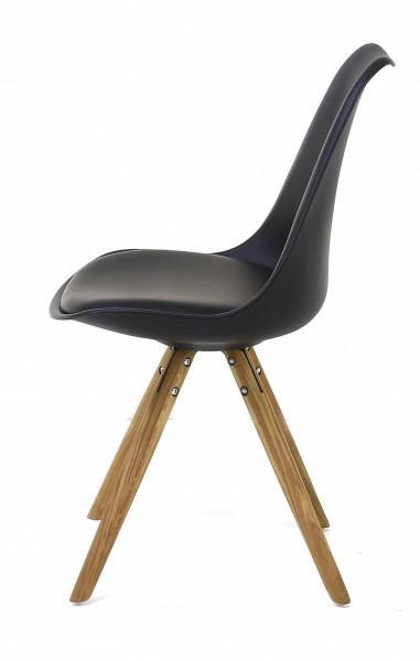 chaise design élégante pieds bois