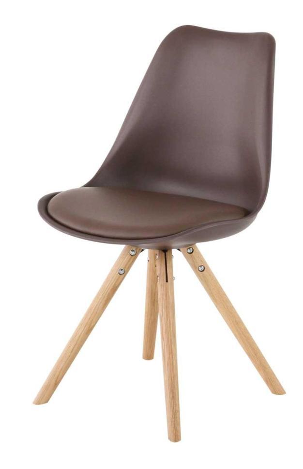 chaise chaleureuse bois marron chocolat