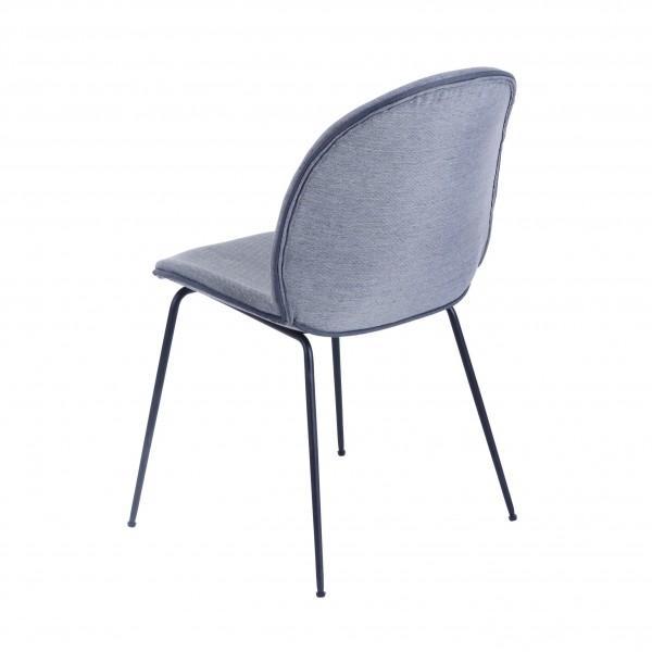 chaise gris clair lumineuse design