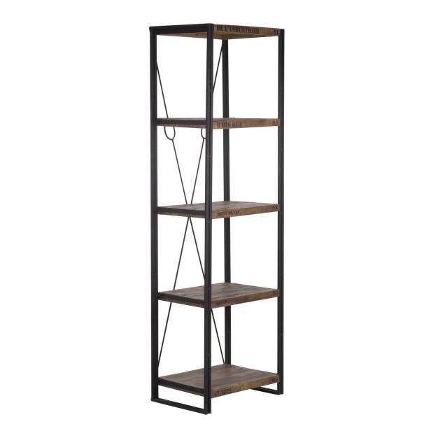 étagère bois bibliothèque design