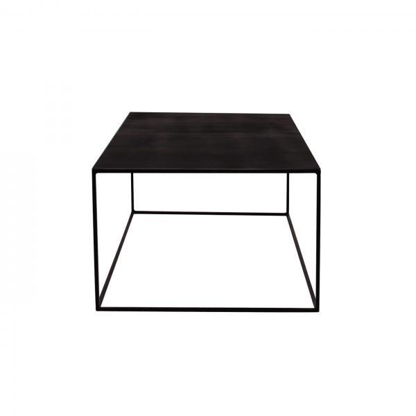 table basse métal tron