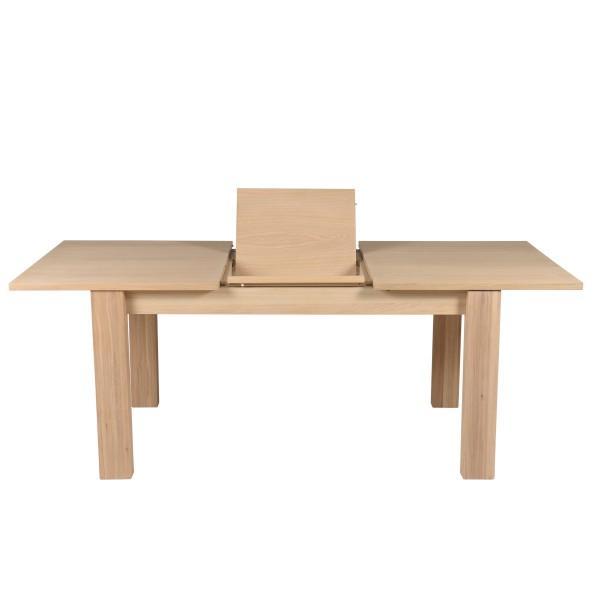 table authetique en chêne plauqé