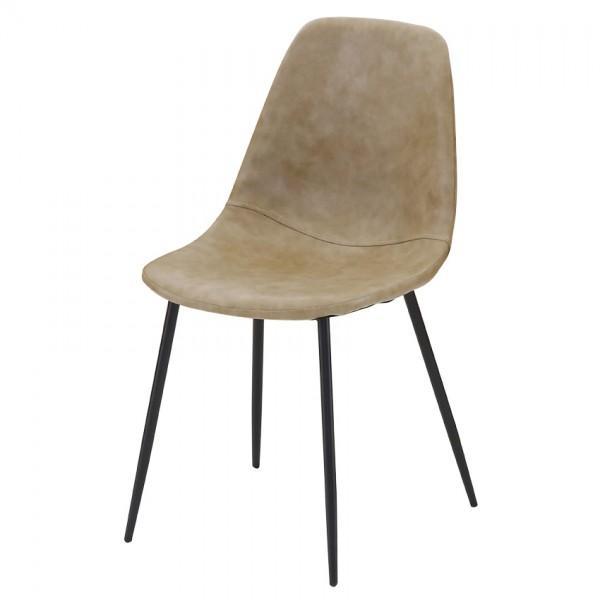 chaise zara cuir