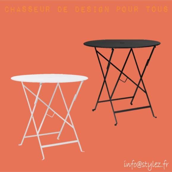 table pliante intérieur extérieur design