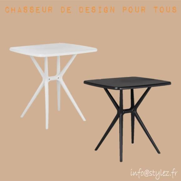 table design intérieur extérieur solide