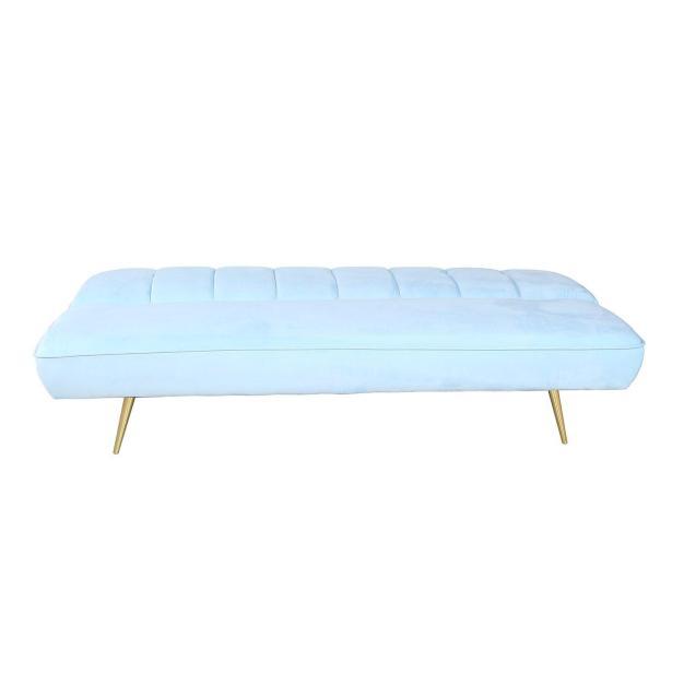 canapé modifiable bleu ciel clair