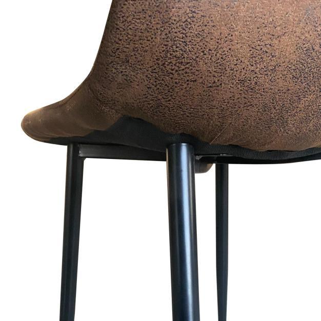 chaise cuir haute qualité marron
