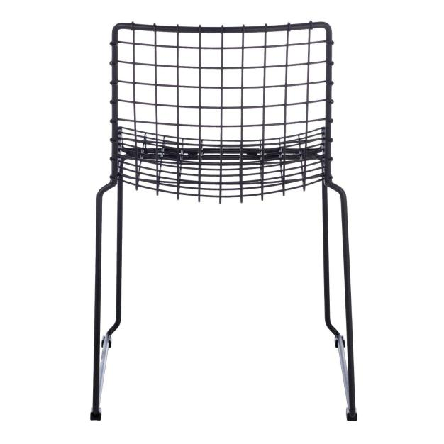 dos de chaise métal