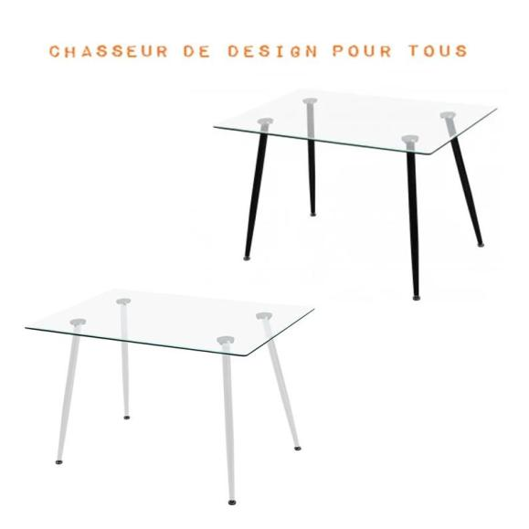 Table moderne 120cm
