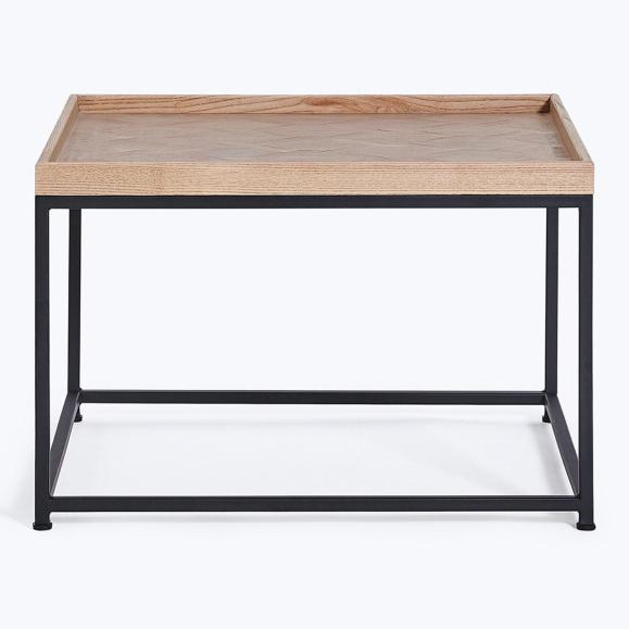 table basse 60cm bois