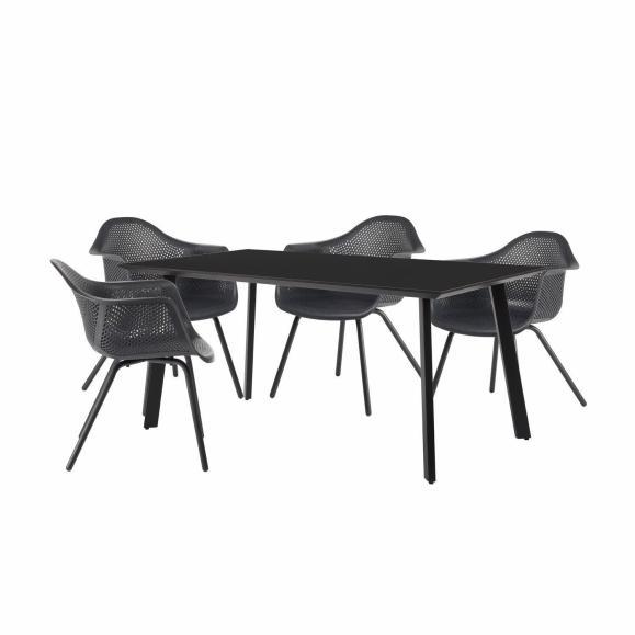 ensemble chaise exterieur design