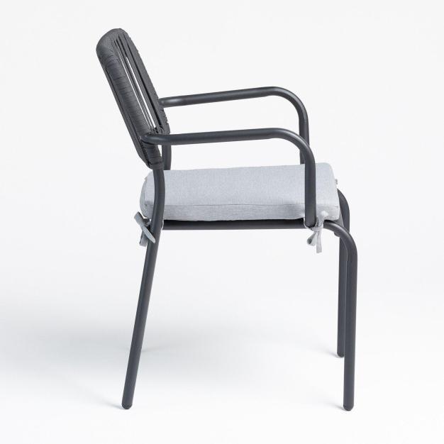 chaise avec coussin