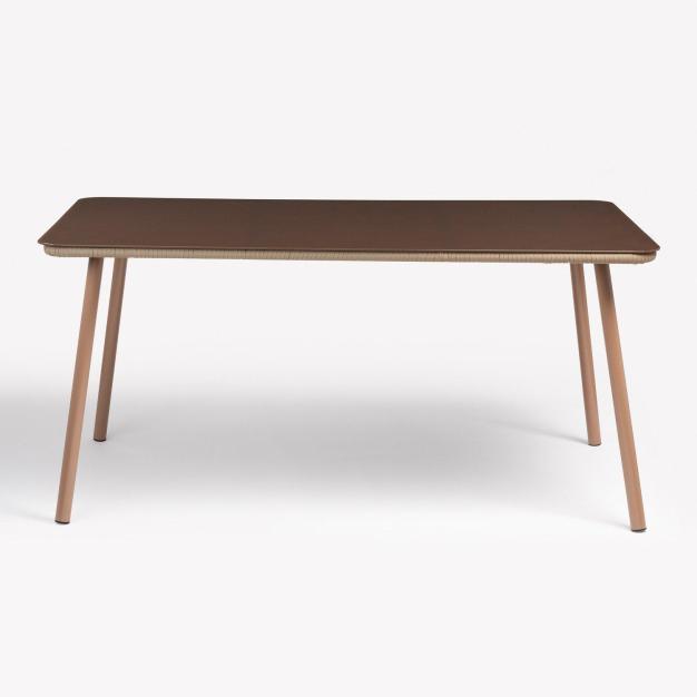 table beige corde