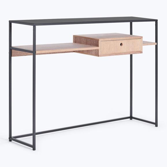 console meuble tiroir
