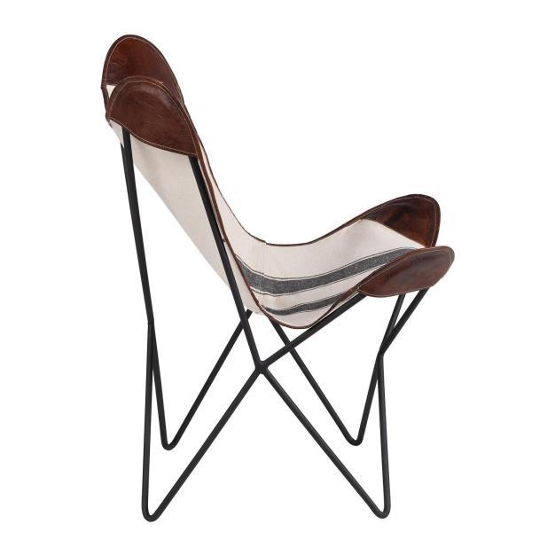 fauteuil beige pliable
