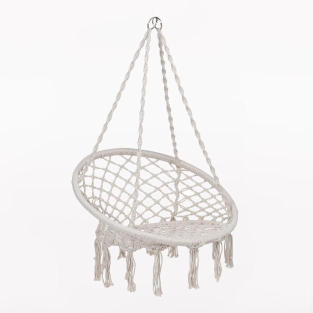 hamac chaise blanc