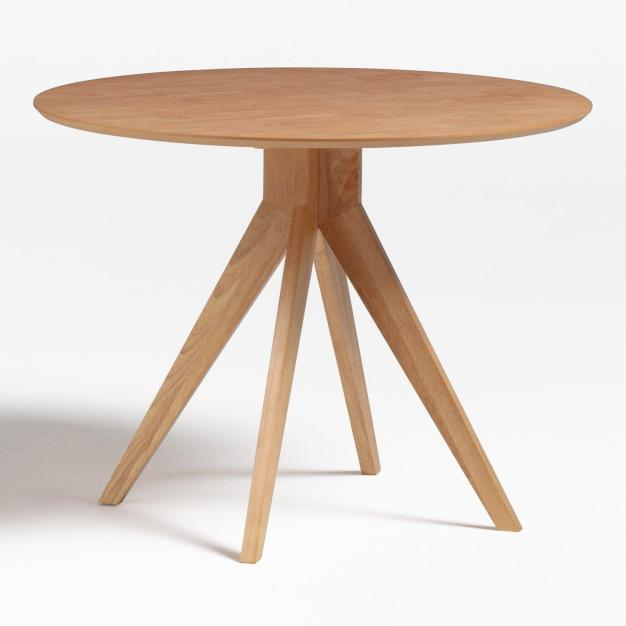 table ronde bois clair