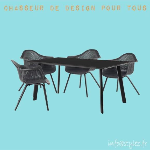 Chaise extérieur design